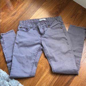 Free People Light purple skinny jeans